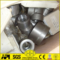 "A182 Stainless Steel 2X1"" Half/Full Threaded Coupling Pipe Fitting"