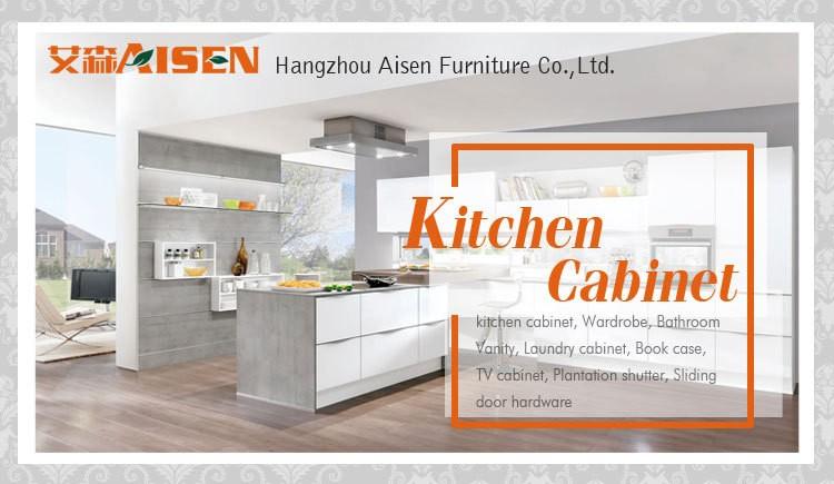 New italian style modern design modular high gloss kitchen for Kitchen cabinets 40 inches high
