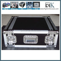 4 SPACE RACK CASE for Amp Effect Mixer PA/DJ PRO Audio