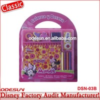 Disney Universal NBCU FAMA BSCI GSV Carrefour Factory Audit Manufacturer Promotional Eco Friendly Pictures Of Stationery Items