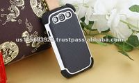 3 in 1 mobile phone case for Sumsung galaxy S3 I9300