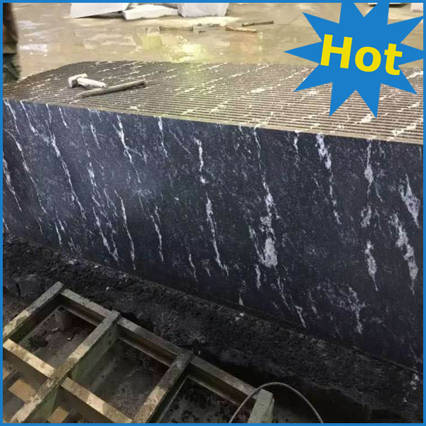 snow grey granite black granite with white veins