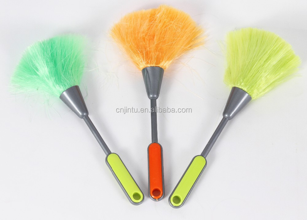 Short handle plastic cleaning duster H36