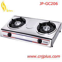 JP-GC206 Best Price standard royal double burner portable Outdoor Gas Cookers