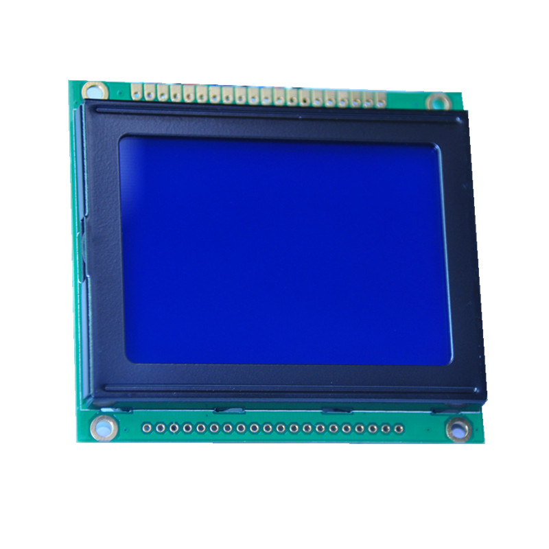 128X64 Graphic LCD module STN blue Transmissive blue LCD display for home appliance