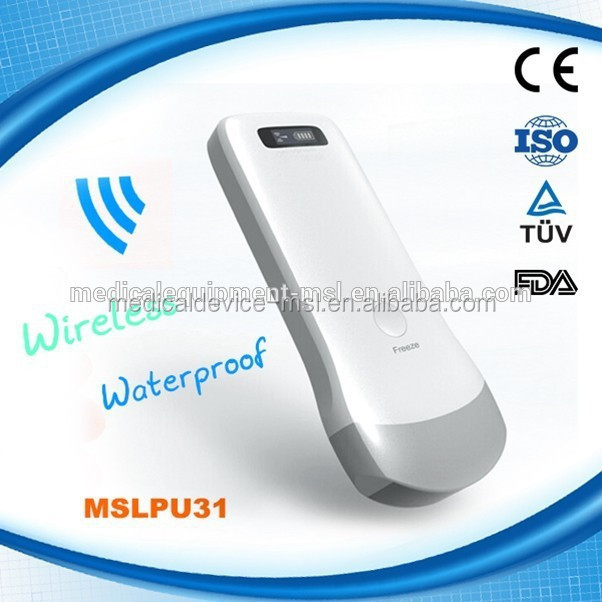 MSLPU31H Smart Mini Waterproof Wireless Probe Type Ultrasound Probe