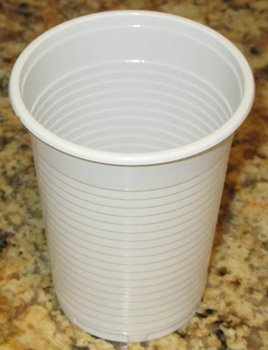 Budget plastic cup 210 ml