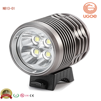 best selling mountain bicycle light super bright Cree T6 4000lumens led bike light