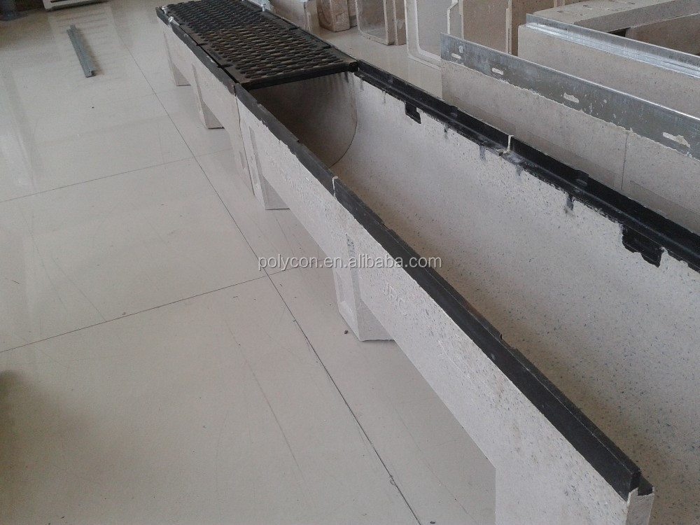 EU resin cast iton rail edge