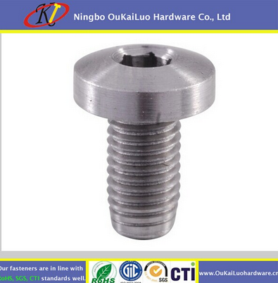 Cylinder head screws SS316 SS304 Zhejiang factory customized galvanized self tapping cheese head from Yuyao OuKaiLuo