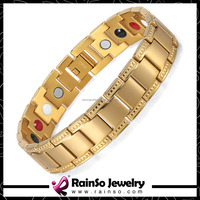 Best selling products 18k gold bangle magnetic bracelet
