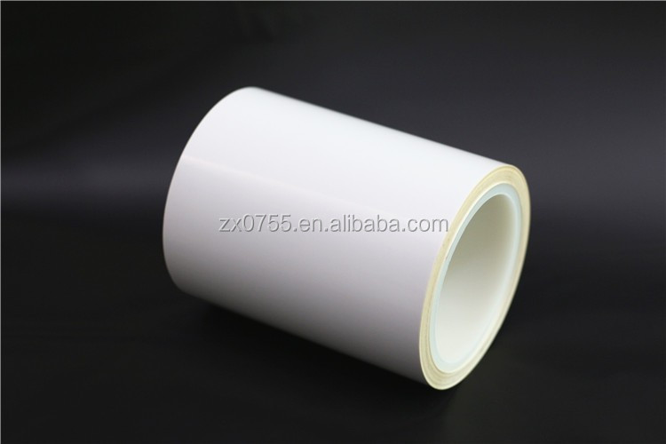 self adhesive 75 micron polyester film for adhesive label sticker