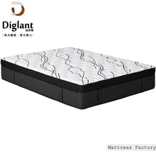 Roll Up And Vacuum Compressed Aloe Vera Memory Foam Sponge Hard Polyethylene Foam 7 Zone Pocket Spring Mattress In Pallet