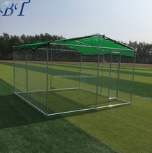 Different types of pet cages hot sale chain link dog kennel/ cheap welded dog run fence