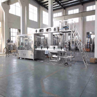 Mineral water plant high quality filling machine
