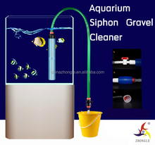 Aquarium fish tank cleaning set super gravel cleaner easily operated