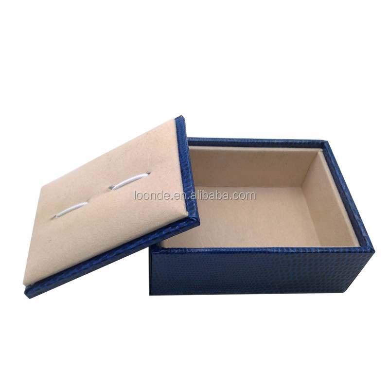 Custom small paper folding cufflink gift box for male