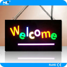 wholesale price LED open sign with logo