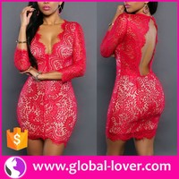 mature women one piece bodycon tight mini sexy red honeymoon dresses