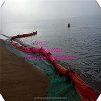 custom manufactures PVC oil spill containment boom