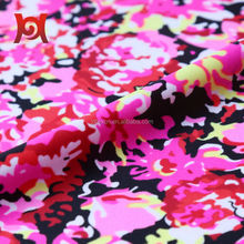 4 way stretch dull nylon spandex textile printing lycra fabric for swimwear