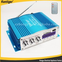 12V USB Power Amplifier Kinter Car Stereo HIFI Audio 4 Channel 200W MINI Amplifier