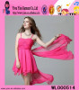 WL000514 Alibaba Pink Dress Mini Soft Material Pink Dress