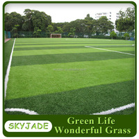 Top Level Green Field Soccer Artificial Grass for artificial football pitch with infill