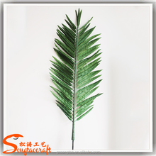 China Direct Sale Artificial palm tree leaves outdoor names of leaves in india wholesale