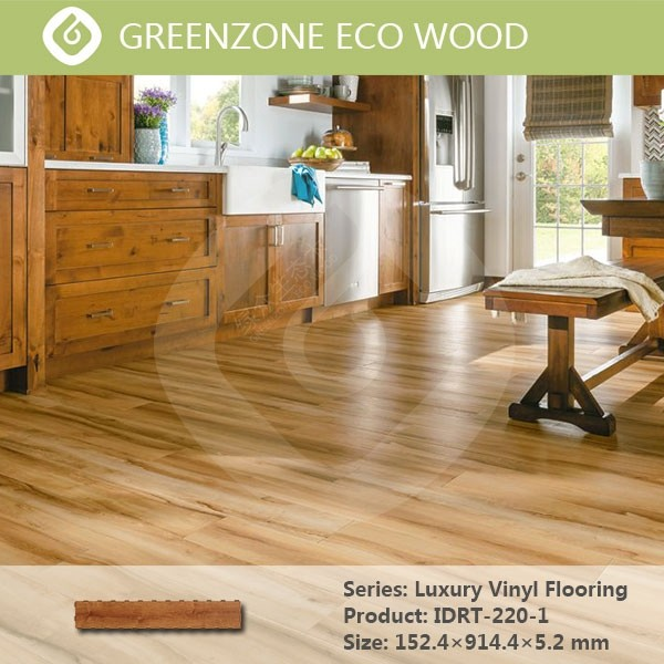 Waterproof wpc vinyl flooring,indoor pvc flooring LVT plank for home