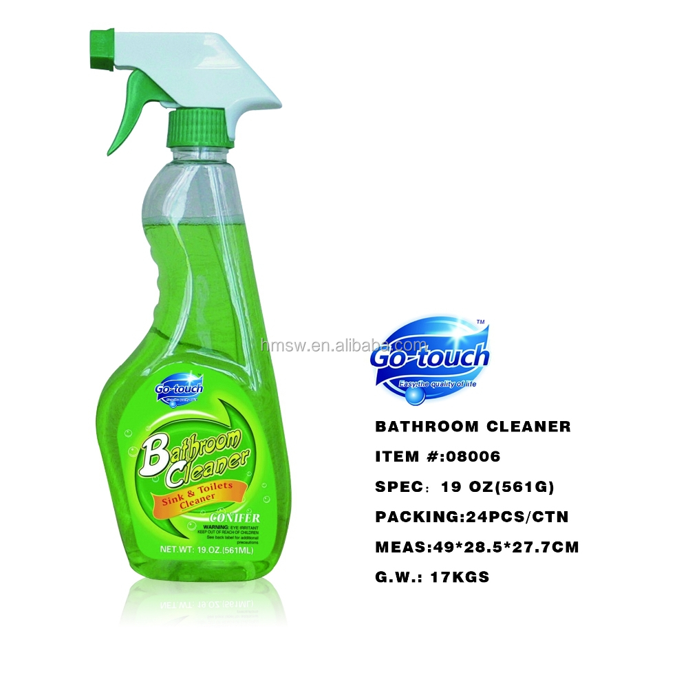 superior disinfectant bathroom cleaner spray and detergent