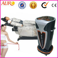 Newest auro salon beauty far infrared sauna blanket fat reduction slimming pressotherapy blanket Au-7009