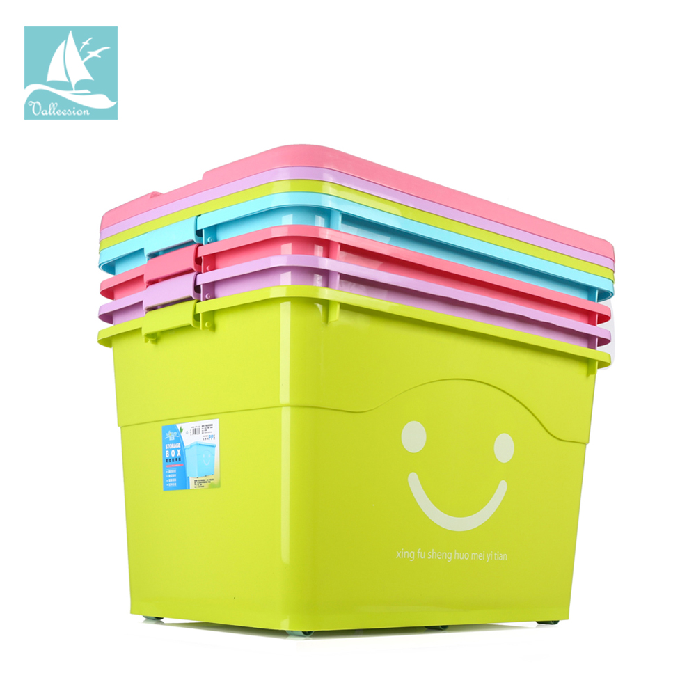 Popular wholesale cheap opaque home book toy big plastik tub case bin boxes large pp plastic storage containers with lid