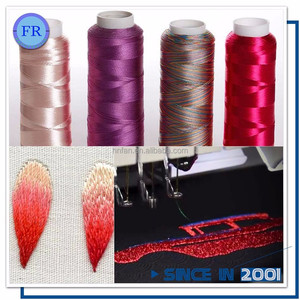 high quality 100 % viscose rayon embroidery thread