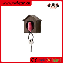 practical and delicate wooden key holder with house shape made in China