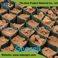 perfore plastik geocell fiyat used for road construction