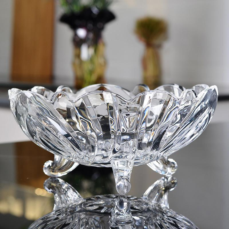 High quality glass fruit bowl stand for sale
