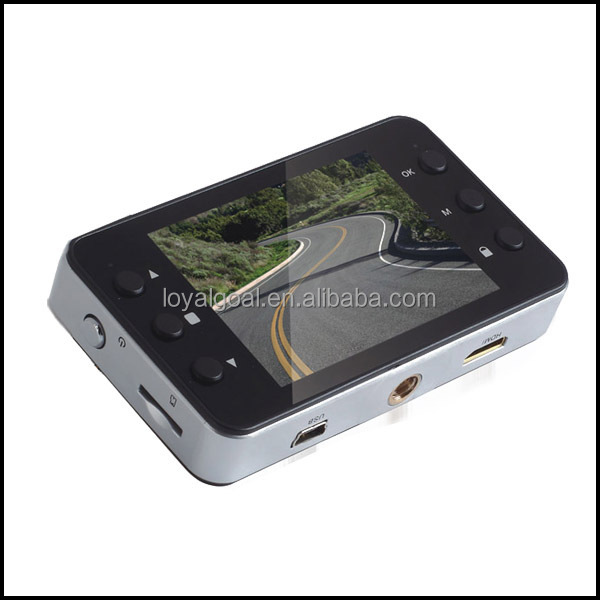 "Factory directly K6000 Car Black Box Full HD Car Dvr 1080p 2.7"" Display with G-sensor"