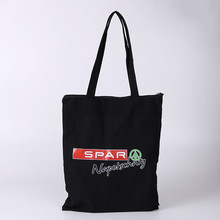 Top quality customized canvas tote bag foldable cotton shopping bag