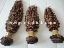 Hot selling remy hair chocolate