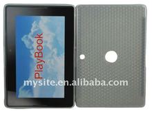 Laptop Design Clear Cell Phone TPU Case Covers for BlackBerry PlayBook with Diamond patterms