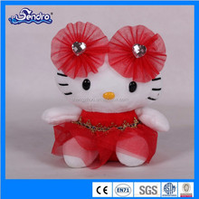 hotsale pretty kitty cat bride, cute and lovely toy