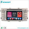 High quality 6.2 inch Car GPS Navigation double din car radio for Toyota Hilux 2012