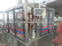 Pure or Mineral Water Processing and Bottling Plant and machine