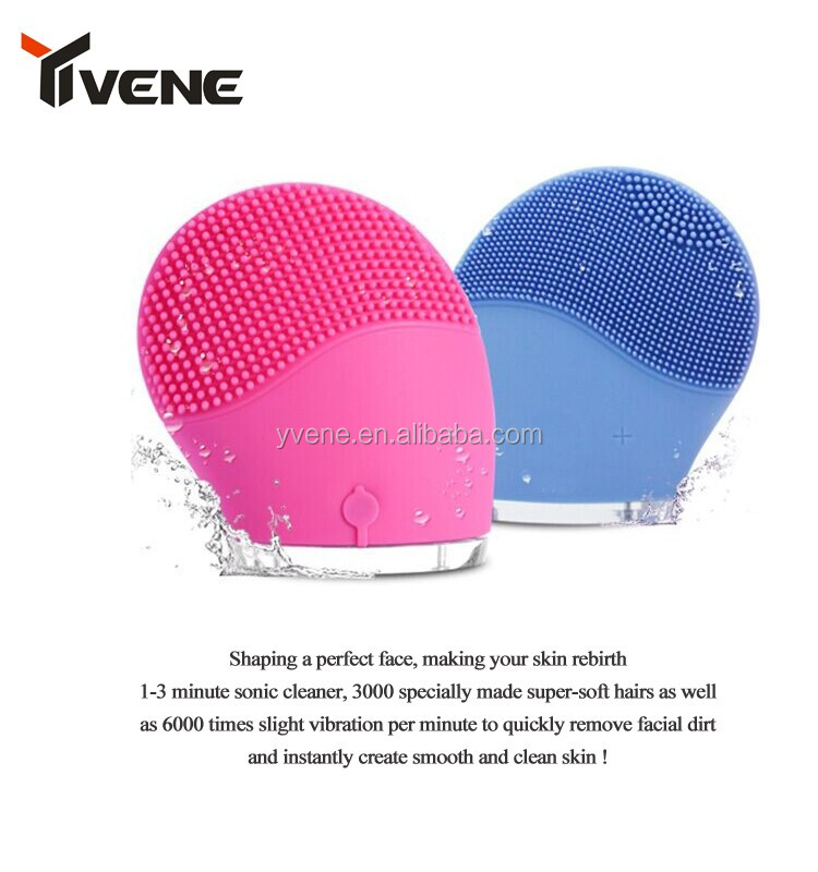 2016 Hot Sale Home use Deep Cleaning Silicone face brush