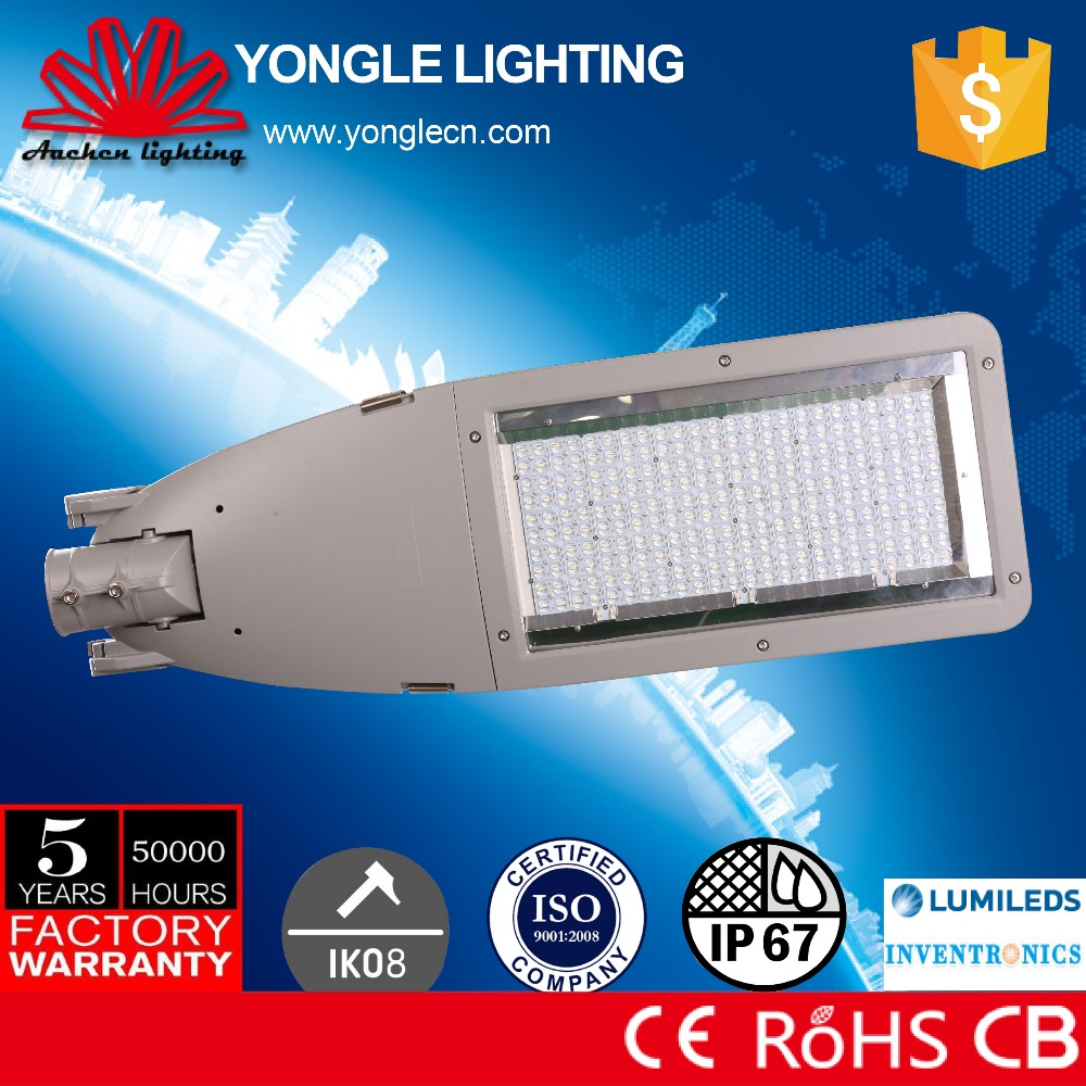 CE RoHS UL CB listed certification led street lighting india with competitive price