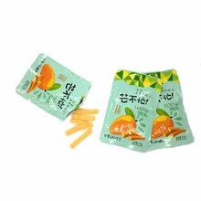 HALAL Cheap Price Sweet Stick Mango Soft Sugar Coated Jelly Candy