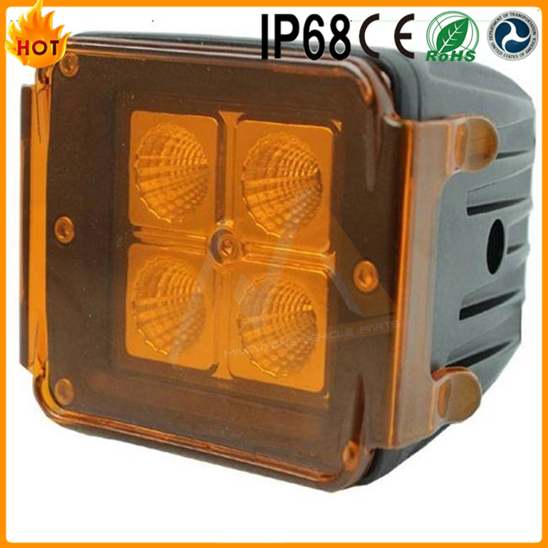 Hot Sale Auto Xenon Truck Light best price 9 ~ 32v high quality flood beam hid driving work light