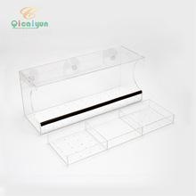 Buffet Double Seed Tray Window Feeder Univeral Plastic Feeder