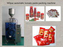 Automatic chili sauce packing machine / tomato paste packing machine